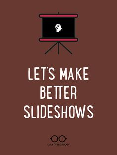 Let's Make Better Slideshows (Cult of Pedagogy) Instructional Coaching, Instructional Strategies, Teaching Strategies, Teaching Tips, Teaching Poetry, Instructional Technology, Instructional Design, Teaching High Schools, College Teaching