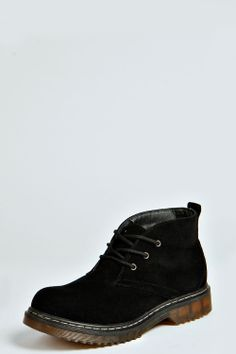 Jessica Suedette Lace Up Ankle Boots at boohoo.com