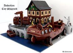Legos, Lego Winter Village, Minecraft, Lego Age, Mega Blocks, Lego Boards, Lego Ship, Lego Modular, Cool Lego Creations