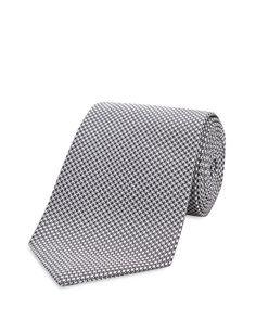 Turnbull & Asser Basic Houdstooth Classic Tie