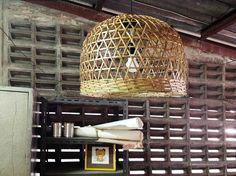 Kitchen pendant lighting Bamboo pendant light wicker lamp shade size basket light diagonal line,triangle pattern lamp Wicker Pendant Light, Diy Pendant Light, Island Pendant Lights, Industrial Pendant Lights, Kitchen Pendant Lighting, Kitchen Pendants, Pendant Lamp, Industrial Style, Shabby Chic Lamp Shades