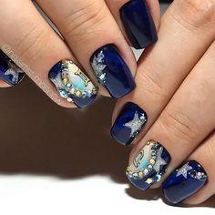 Nails with rhinestones ideas