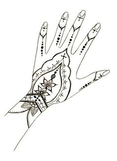 Classy Simple Mehndi Designs For Hands Step By Step The Henna Designs. See also… – Henna Henna Hand Designs, Beginner Henna Designs, Simple Mehndi Designs, Mehndi Designs For Hands, Henna Tattoo Designs, Mehndi Tattoo, Henna Ink, Henna Body Art, Arte Mehndi