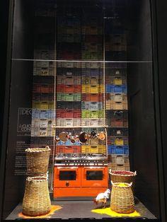La Rinascente. La Cucina di Confine. India. By Elle Decor - Milan fashion windows