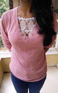 Sweet Nothings Crochet: CLIP ON MOCK CAMISOLE
