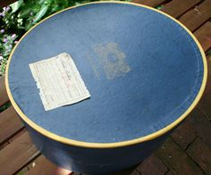 Vintage Brooks Brothers Hat Box 1940s with by HappyInTheNest Vintage Hat Boxes, Vintage Items, Animal Rights Organizations, Mailing Labels, Water Spots, Brooks Brothers, Pretty Good, 1940s, Things To Come