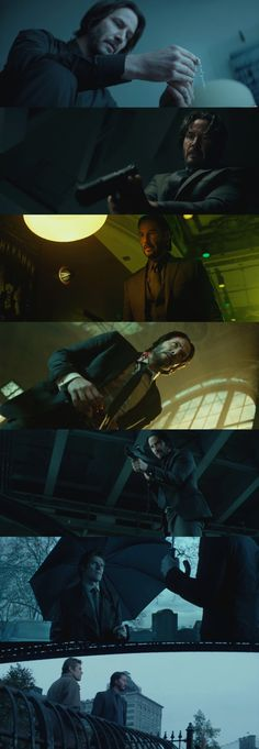 John Wick . Cinematography by Jonathan Sela . Beautifully shot movie.