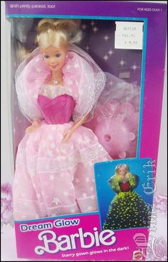 dream glow Barbie. Really wanted her!