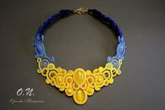 "Ручная работа ""Безделушки""                                                                                                                                                                                 More Diy Jewelry, Jewelery, Handmade Jewelry, Jewelry Design, Jewelry Making, Soutache Pendant, Soutache Necklace, Crochet Necklace, Shibori"
