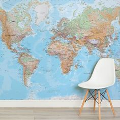 physical-world-map-maps-square-1-wall-murals