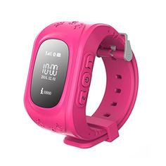 Hideer Q50 Kids Safety GPS Watch Wristwatch SOS Call Location Finder Locator Tracker for Kid Children Anti Lost Monitor Baby Son Daughter Gift (Pink) HiDeer http://www.amazon.com/dp/B015J4N6OI/ref=cm_sw_r_pi_dp_NEV4wb0FKSEJB