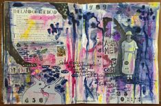 Art Journal Page J185 Land of the Dead