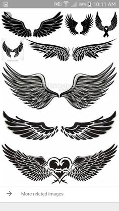 Angel Wings Tattoo Designs For Men Projects To Try Tattoos