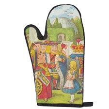 The Queen Of Hearts Oven Mitt