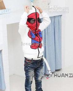 Spiderman Sweatshirt...Brysen would love this