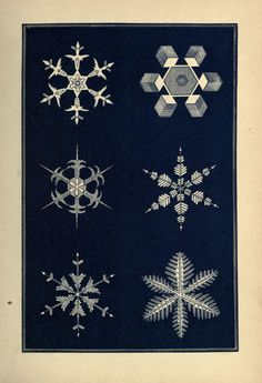Snow Flakes: A Chapter from the Book of Nature. Published 1863 by American Tract Society in Boston.