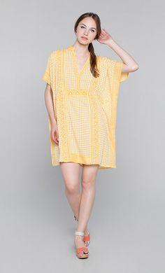 Yellow Caftan Look