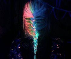 Glow In The Dark Hair Gel for Halloween