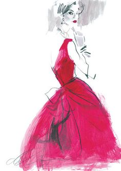 Illustrated By David Downton / 200863143326319