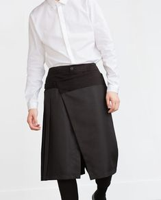 Image 3 of TROUSERS WITH OVERLAID SKIRT from Zara