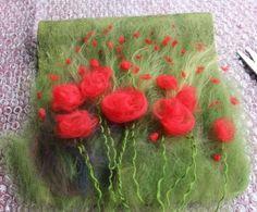 Image result for needle felting poppy tutorial