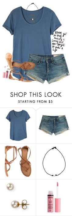 """""""Sick && tired"""" by southernstruttin ❤ liked on Polyvore featuring RVCA, rag & bone, Matisse, Majorica and Charlotte Russe"""