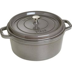 Staub 1103418 Round Cocotte Oven, 13.25 quart, Graphite Grey * Special  product just for you. See it now! : Dutch Ovens