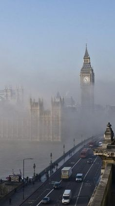 London Fog..! (by Jon Cartwright on Flickr)