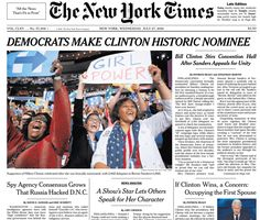 <p>The Democratic Party made history on Tuesdaynight by nominating Sec. Hillary Clinton for president. What follows is a sampling ofhow…