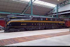 RailPictures.Net Photo: PRR 4935 Pennsylvania Railroad GG-1 at Strasburg, Pennsylvania by Hiawatha Pete