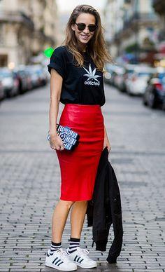 Как носить юбку-карандаш, чтобы не выглядеть скучно: 20 модных идей   Журнал Cosmopolitan