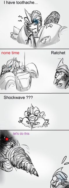 Tooth ache? No problem. Leave it to Shockwave