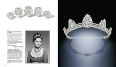 More Art Deco from Cartier, this time it's the tiara formerly belonging to Maureen Ward, Countess of Dudley, nee actress Maureen Swanson. Circa 1930 it's shape resembles pylons, and each pylon can be removed from the tiara to create individual brooches. The Pylon became a fashionable theme after the discovery in 1922 of Tutankhamen tomb by Howard Carter. The tiara was sold by Christie's 13th June 2012 and realised £277,250