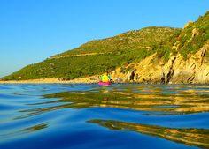 For your #kayaking expereince in the southern #Sardinia we suggest the coast of  #PuntaMolentis included in the Active Holiday program of #LaVilladelRe #Hotel. Find out more www.lavilladelre.com #ActiveHolidayVDR