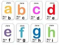 Alphabet Script, Alphabet Cursif, Alternative Education, French Language Lessons, Playing Cards, Templates, Activities, Logos, Dire