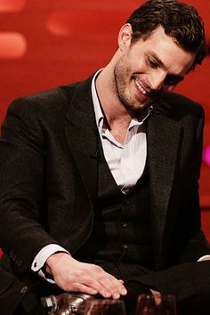 Jamie Dornan on The Graham Norton Show (x)