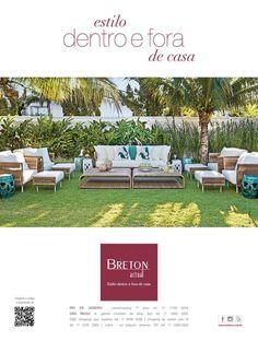 Campanha publicitária da Breton Actual presente na revista Casa Cor, edição outubro de 2013.