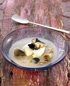 Sopa de castaña con huevo poché y setas de temporada   Delicooks   Good Food Good Life