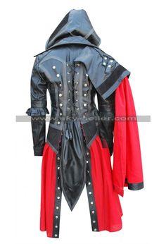 #Assassins_Creed_Syndicate #Women_Costume #Leather_Jacket #Black_Jacket…                                                                                                                                                     More