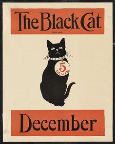 The black cat December by Boston Public Library, via Flickr