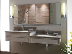 KOHLER | ADA Compliant Products | Vanity design is also great for couples that are different heights!