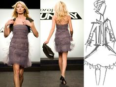 Carol Hannah Whitfield's creation for Project Runway S06E08