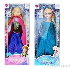 2015 Hot Sale Frozen Figure Play Princess Anna Elsa Classic Toy Frozen Toys Dolls With Retail Box Online with $6.08/Piece on Cigmod's Store | DHgate.com