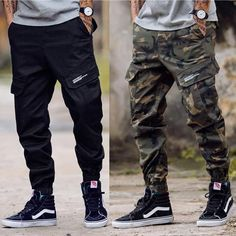 Casual Multiple Packet Floral Printed Pants Source by ronniejdabarber Outfits mens Swag Outfits Men, Stylish Mens Outfits, Casual Outfits, Sneakers Mode, Vans Sneakers, Sneaker Outfits, Cargo Pants Men, Mens Camo Pants, Fashion Joggers
