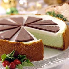 Mint Chocolate Cheesecake