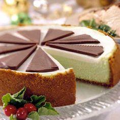 Mint-Choco Cheesecake