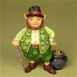 Luck Of The Wee Folk-Small Irish Leprechaun Figurine from Irish/St. Patricks Day - Jim Shore Store