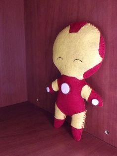 Iron Man vilt poppetje 16 cm van CrafterEyes op Etsy, €12.95