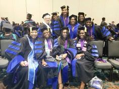 They did it! Congratulations to my PhD Sisters who graduated over the weekend. Nashville, TN 03/17/2014