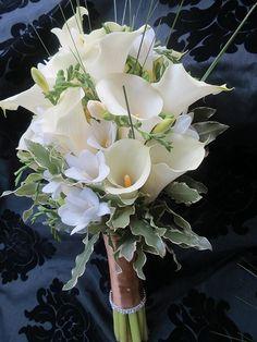 White Calla Lily Bouquet - Marriage Stuff